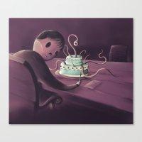 Cake time Canvas Print