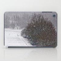 Snow Is Falling iPad Case