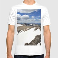 Mt Democrat Mens Fitted Tee White SMALL
