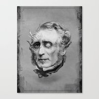 The Corrupted Man Canvas Print