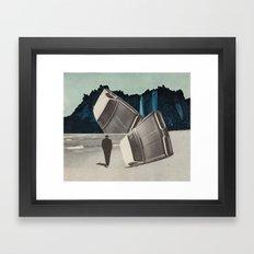 the stuntdriver's lament Framed Art Print