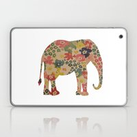 Flower Power Elephant Laptop & iPad Skin
