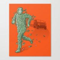 The Six Million Dollar M… Canvas Print