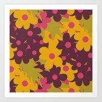 Flowers For Lola Art Print