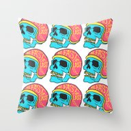 Fast Or Last Color Throw Pillow