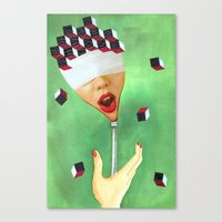 OH!! Canvas Print