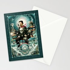 Nikola Tesla Master of Lightning Stationery Cards