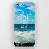Wave Catcher iPhone & iPod Skin