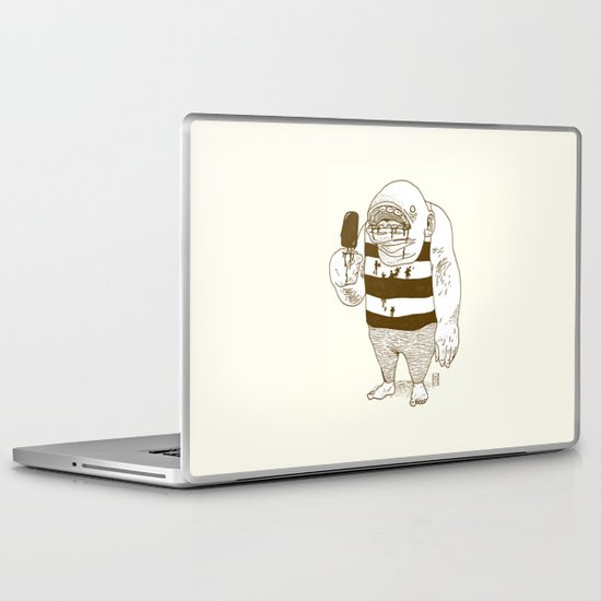 Fudge Pop! Laptop & iPad Skin