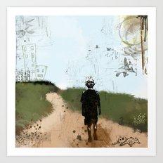 Walk Into My World Art Print