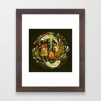 Animal Chants & Forest Whispers Framed Art Print