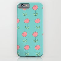 iPhone & iPod Case featuring Color Me Pink with Spring by MisfitIsle