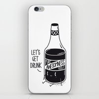 Pure Awesomness iPhone & iPod Skin