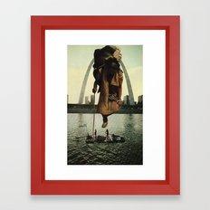 Traveler's Past Framed Art Print