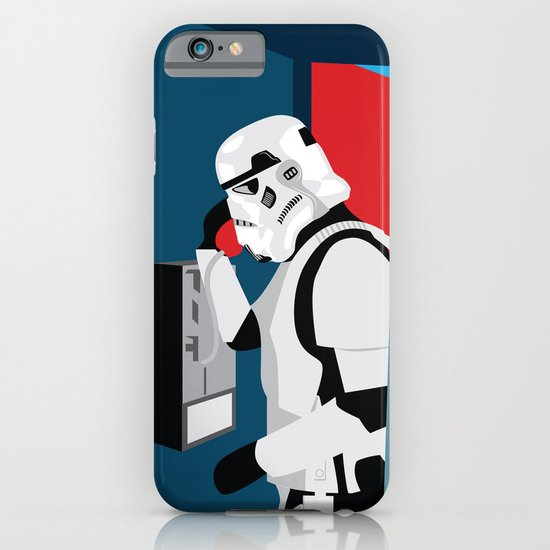 Stormtrooper Phone Home iPhone & iPod Case
