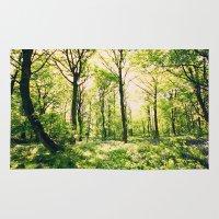 Bluebell Wood  Rug