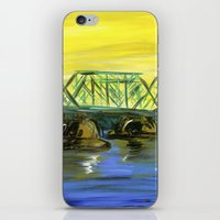 New Hope-Lambertville Br… iPhone & iPod Skin