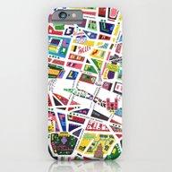 A Map Of Paris iPhone 6 Slim Case
