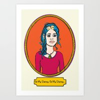 Oh My Darling Clementine Art Print