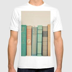 Literary Gems I Mens Fitted Tee SMALL White