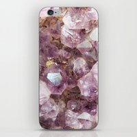 Amethyst and Gold iPhone & iPod Skin