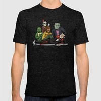 The Universal Monster Club Mens Fitted Tee Tri-Black SMALL