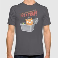 It's a trap! Mens Fitted Tee Asphalt SMALL