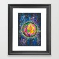 Your planet Framed Art Print