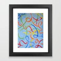 Dancing Joy Framed Art Print