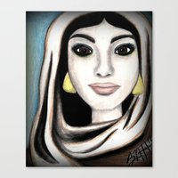 The Princess of Agrabah Canvas Print