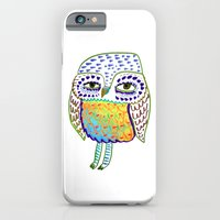 colorful Owl, owl art, owl design, owl print,  iPhone 6 Slim Case