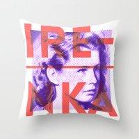 Irenka Polska Throw Pillow