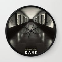 Enter the dark Wall Clock