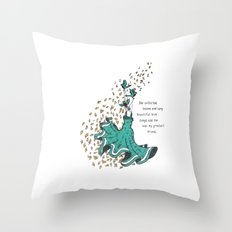 Imaginary Friends Are The Best Friends Throw Pillow