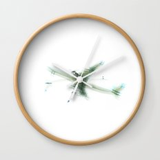 New Airplane Impression Wall Clock