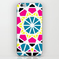 CMYK III iPhone & iPod Skin