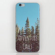 Adventure Calls iPhone & iPod Skin