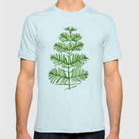 Dawn Redwood Mens Fitted Tee Light Blue SMALL