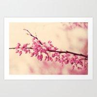 Blossom Love Art Print