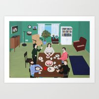 Birthday Party Art Print