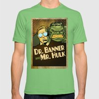 A Banner Year Mens Fitted Tee Grass SMALL