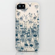 Armchairs And Wingchairs iPhone (5, 5s) Slim Case