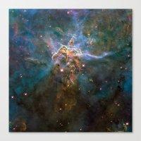 Mystic Mountain Nebula Canvas Print