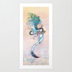 Journeying Spirit (ermine) Art Print