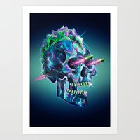 Diamond Mohawk II Art Print