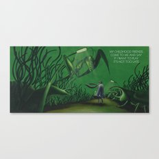 POEM OF INSECTS Canvas Print