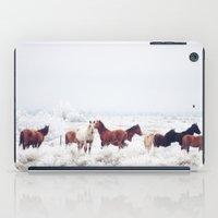 Winter Horseland iPad Case