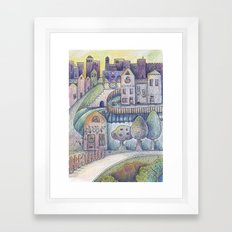 My little town Framed Art Print