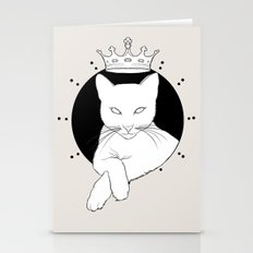 who's the queen Stationery Cards