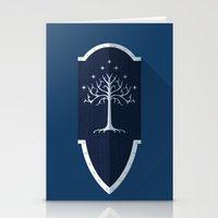 Shield of Gondor Stationery Cards